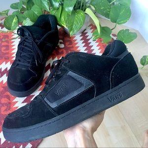 VANS Suede 90s Puffy Skate Sneaker Shoe Black 14